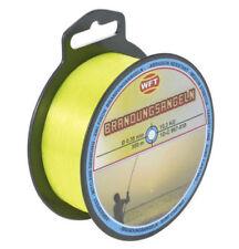 Lignes, tresses et fils de pêche jaune 100 m
