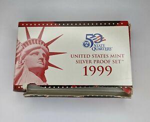 1999-S US Mint Silver Proof Set - 170145V