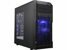 Rosewill Stryker M, ATX Mid Tower Gaming Computer Case w/ Front Blue LED Fans