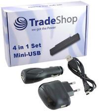 4in1 Ladegerät Ladekabel Kfz Set  für Mitac Mio Moov M300 M305 M405 M610