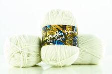 10 x 100g Graffiti Wool Pro Acryl Strickgarn 100% Polyacryl  elfenbein by Anune