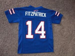 Buffalo Bills RYAN FITZPATRICK Football Jersey youth Small