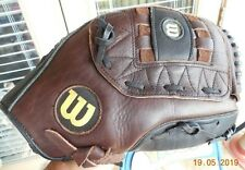 Leather Baseball Glove - Wilson Pro Model Flexback