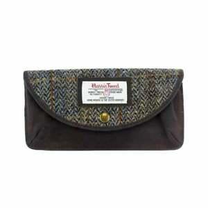 Female British Bag Company Ladies Carloway Harris Tweed Glasses Case