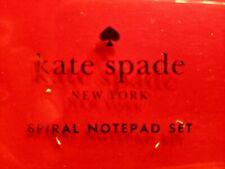 Kate SPADE - Spiral Notepad Set - Set of 3
