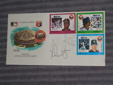 NOLAN RYAN- GRENADA First Day Cover Cachet- Nov 28,1988- AUTO- COA