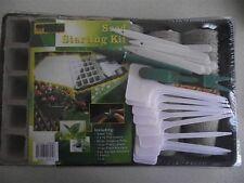 BULK LOT x 8 seed starter kit gardening, paper pots, seedlings, seed raising