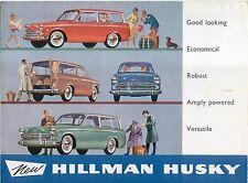 Hillman Husky ORIGINALE UK SALES BROCHURE PUB. NO. 759/H SERIE II intorno al 1961