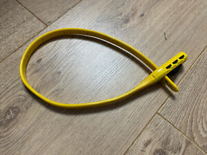Hiplok Z LOK Combo Steel Core Security Tie - Yellow
