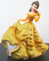 *BELLE GLITTER DRESS Disney BEAUTY AND THE BEAST PVC TOY FIGURINE Doll Figure!*