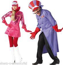 Costumi e travestimenti multicolore per carnevale e teatro, alla TV, libri e film