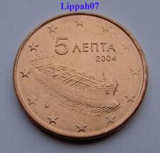 Griekenland / Greece 5 cent 2004 UNC