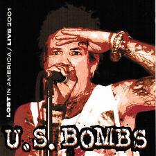 U.S. Bombs – Lost In America / Live 2001 LAST COPIES!  CLEAR ORANGE VINYL