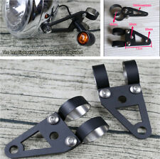 2x 41mm Fork Headlight Turn Signal Mount Clamp Bracket For Motorcycle Dirt Bik