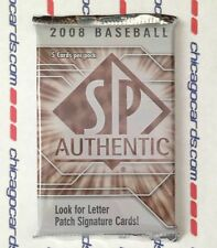 2008 Upper Deck SP Authentic Baseball HOBBY Pack Longoria RC Jeter AUTO Jersey?
