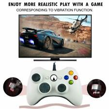 New Wired White 360 Controller Remote Gamepad For Microsoft XBOX 360 PC Windows