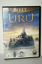 MYST URU AGES BEYOND MYST GIOCO USATO BUONO PC CDROM VERSIONE TEDESCA RS2 38537