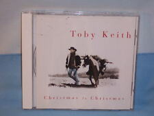 Christmas To Christmas By Toby Keith 1995 CD PolyGram Mercury Records