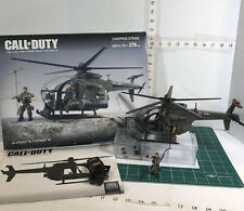 RARE RETIRED CHOPPER STRIKE CALL OF DUTY 06816 Helicopter Mega Blocks. 100% Com