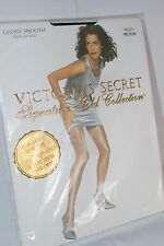 Victoria`s secret Signature Gold Collection glossy smooth sheer to waist Navy M