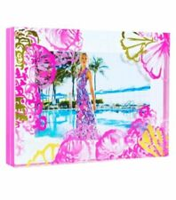 Lilly Pulitzer 🌴 Coco Coral Crab Acrylic Photo Picture Frame NEW! FREE SHIP!