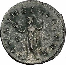 DIOCLETIAN 286AD Silvered Rare Ancient Roman Coin Nude JUPITER Zeus Cult  i44944