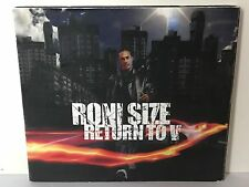 DJ RONI SIZE RETURN TO V - V RECORDS DRUM AND BASS DNB D&B RAVE MIX CD 2004