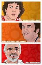 """Original """"The Hard Sell"""" Boogie Nights Art Print Poster There Will Be Blood Dirk"""