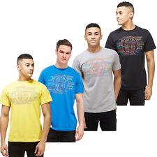 Sergio Tacchini Mens Impact Short Sleeve T-Shirt Graphic Print Logo Tee Top