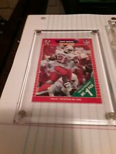 1989 Pro Set Football # 494 Barry Sanders Rookie Card Mint, Pack Fresh!