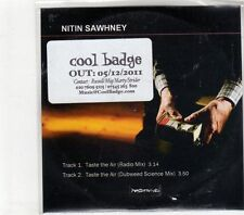 (GM620) Nitin Sawhney, Taste The Air - 2011 DJ CD