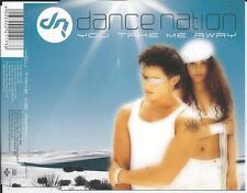 DANCE NATION - You take me away CDM 7TR Trance Eurodance 2003 (JIVE)
