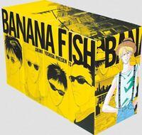 BANANA FISH Complete Set Reprinted BOX VOL 1-4 Manga Comics Anime Akimi Yoshida