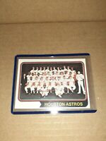 1974 TOPPS HOUSTON ASTROS TEAM CARD  # 154