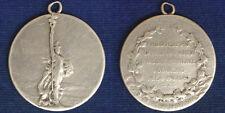 Eroi della Patria Medaglia Argento 1911 - 1914 con Motto #A214