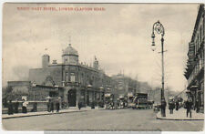 LOWER CLAPTON ROAD nr Hackney - White Hart Hotel Pub & Tram - Charles Martin