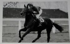 Tommy Stack Red Rum Personally Signed 12X8 Photo Grand National Horse Racing