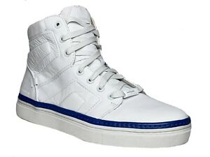 Mark Nason Los Angeles SIGNAL  Mens Casual Fashion White Leather Shoes Sneakers