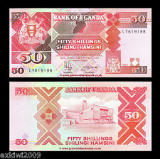 Uganda 50 Shillings 1994 P-30c Mint UNC Uncirculated Banknotes