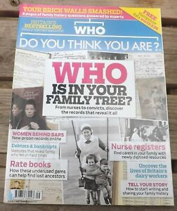 Who Do You Think You Are Family Tree Magazine September 2016 Edition