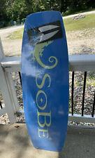 Ronix SOBE Promo logo Wakeboard 53 X 17 +1.75 Hook Edition Brand New Sealed Surf