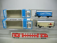 AH898-0,5# 2x Märklin H0/AC Kühlwagen: 4425 Capri-Sonne+4426 Apollinaris, DB OVP