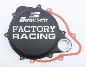 Boyesen Clutch Cover Black Honda CRF250R CRF 250R 250 R 10-17