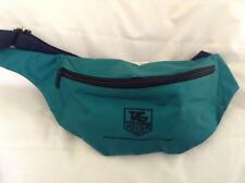 TAG HEUER GREEN WAIST PACK EMBROIDED LOGO MADE/FRANCE EXCLUSIVE FOR TAG