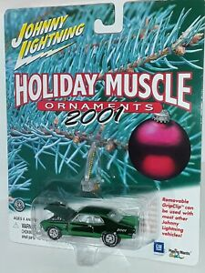 J/L Holiday Muscle ( 72 Chevy Nova )  # 12 of 12 Green , 2001