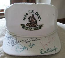RARE 1994 PGA U.S. OPEN AUTO SIGNED CAP 6 AUTOS DALE DOUGLASS JEFF QUINNEY +