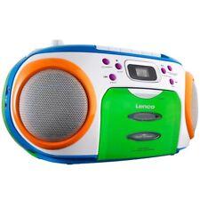 Lenco SCR-970 Radio CD Player Kassetten Recorder MP3 WMA für Kinder