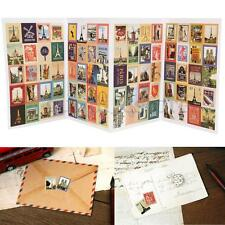 80pcs Paris Style Stamp Sticker DIY Scrapbooking Diary Planner Album Paper Craft