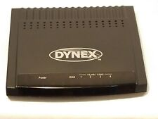 A-2 Dynex Dx-E401 4-Port 10/100 Wired Router - Used Great Working Condition