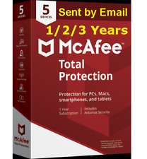 McAfee 1 Year Total Protection 2019 License